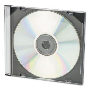 Innovera® CD/DVD Slim Jewel Cases