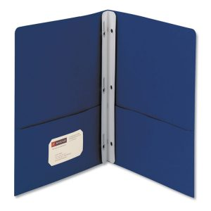 Smead® Two-Pocket Folder with Tang Strip Style Fasteners