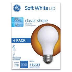 GE Classic LED SW Non-Dim A19 Light Bulb