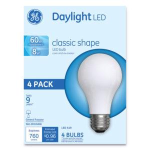 GE Classic LED Daylight Non-Dim A19 Light Bulb