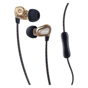 Maxell® Dual Driver Earbuds with MIC