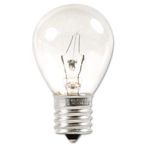 GE Incandescent S11 Appliance Light Bulb