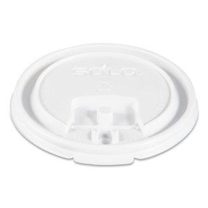Dart® Lift Back & Lock Tab Lids for Paper Cups