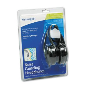 Kensington® Noise Canceling Folding Design Headphones