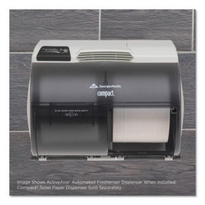 Georgia Pacific® Professional ActiveAire® Automated Freshener Dispenser for Compact® Bathroom Tissue Dispenser