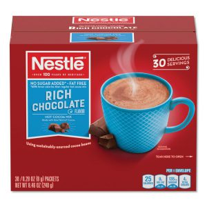 Nestle® No-Sugar-Added Hot Cocoa Mix Envelopes