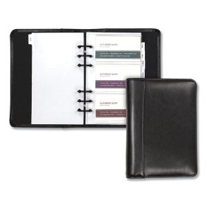 Samsill® Regal™ Leather Business Card Binder