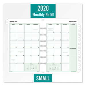 Day-Timer® Monthly Classic Refill