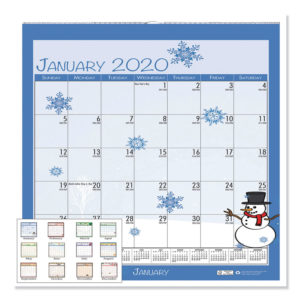 House of Doolittle™ 100% Recycled Seasonal Wall Calendar