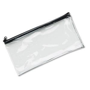 MMF Industries™ Clear Vinyl Zippered Wallet