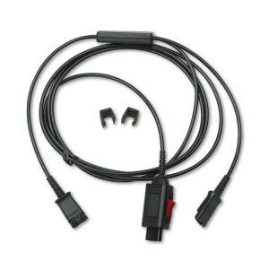 Plantronics® Y Splitter Headset Adapter